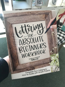 Lettering for Absolute Beginners Workbook - Imperfect Dust
