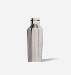 Corkcicle Canteen 9 oz. - Brushed Steel