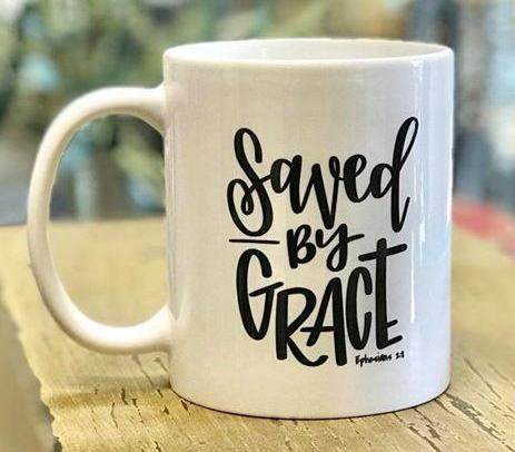 Mug - Saved by Grace