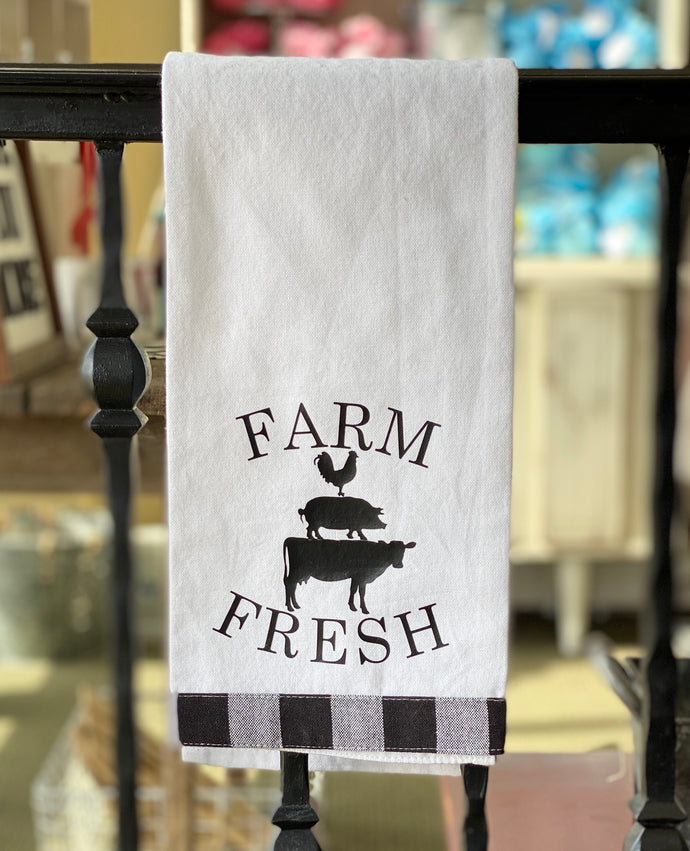 Hand Towel - Farm Fresh