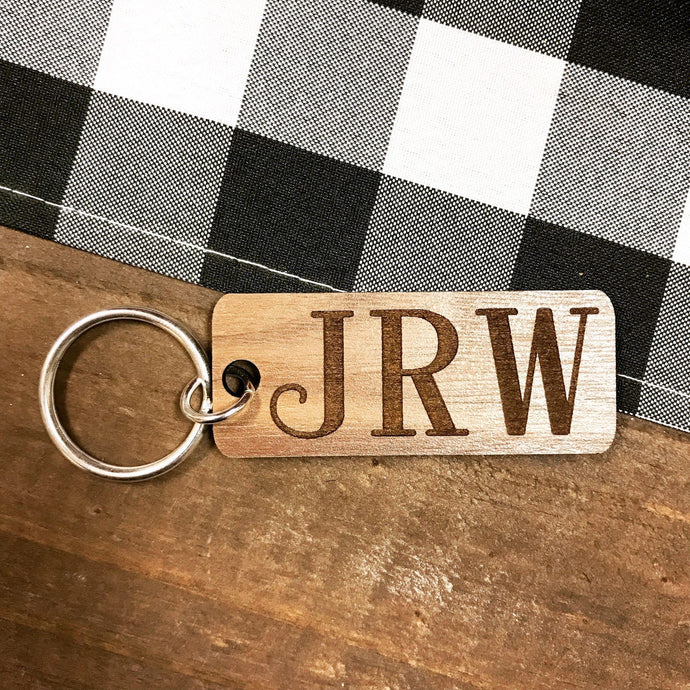 Keyring - Wooden - Personalized