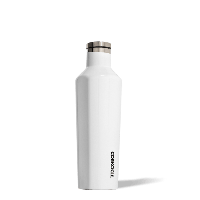 Corkcicle Canteen 16 oz . - Gloss White