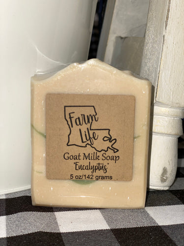 Farm Life Goat Milk Soap - Eucalyptus