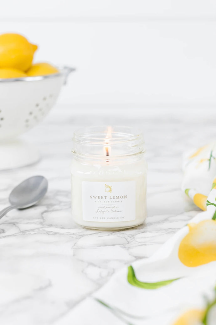 Antique Candle Co - Sweet Lemon 8oz