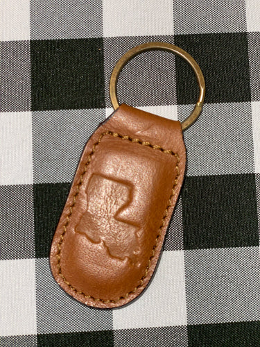 Keyring - Leather Louisiana