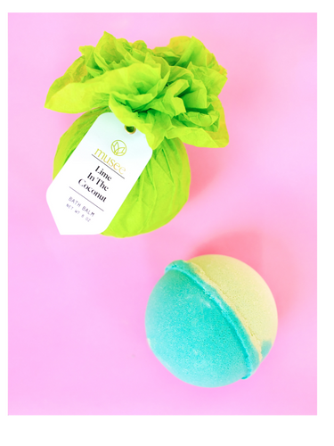 Musee Bath Balm - Lime in the Coconut