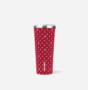 Corkcicle Tumbler 24 oz. - Alabama (Polka Dot)