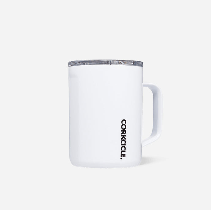 Corkcicle 16 oz Mug - White
