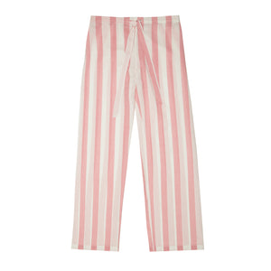 Powder Pink Stripe Pyjama Set