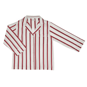 Red Stripe Pyjama Set