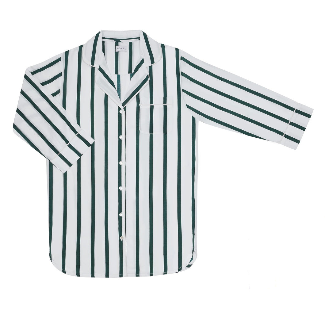 Green Stripe Nightshirt