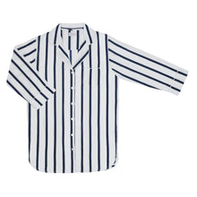 Load image into Gallery viewer, Navy Stripe Nightshirt