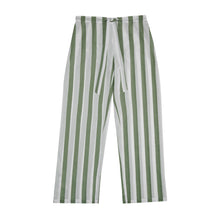 Load image into Gallery viewer, Sage Stripe Pyjama Set