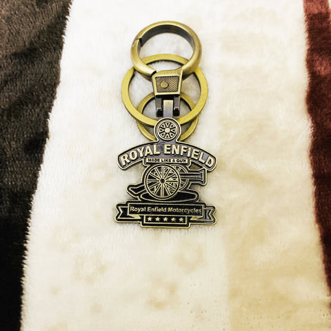 Royal Enfield Number Plate Keychain