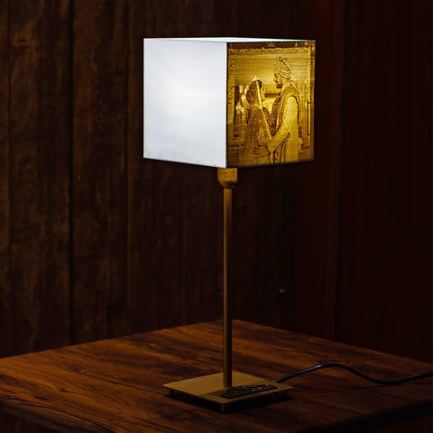 Customized Etchcraft Engraved Lamp