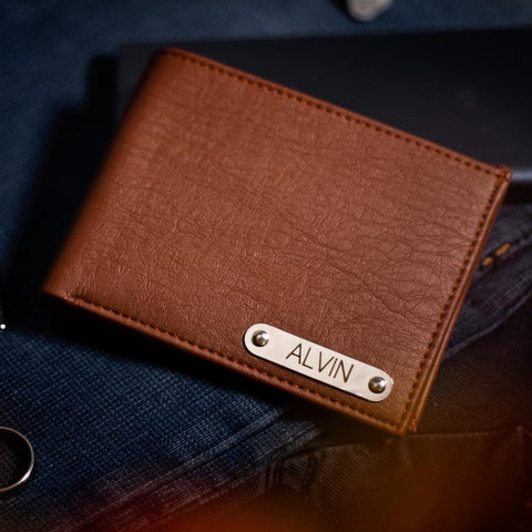 Personalised Faux Leather Wallet