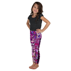 LOVE: IN PINK Kids' Leggings