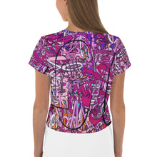 Load image into Gallery viewer, LOVE: IN PINK Crop Tee