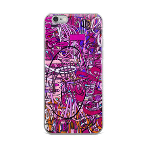 LOVE: IN PINK iPhone Case