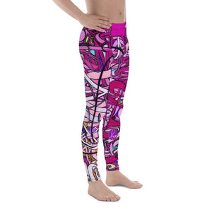 LOVE: IN PINK Men's Leggings