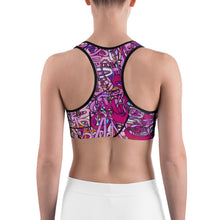 Load image into Gallery viewer, LOVE: IN PINK Sport Bra