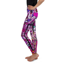 Load image into Gallery viewer, LOVE: IN PINK Tween Leggings