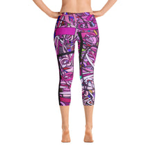 Load image into Gallery viewer, LOVE: IN PINK Capri Leggings