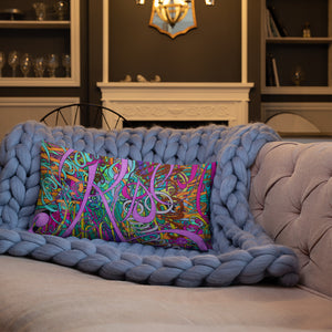 RISE Throw Pillow