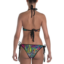 MELODY OF A MUSE Custom Printed Bikini