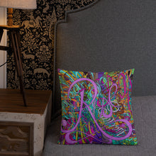 Load image into Gallery viewer, RISE Throw Pillow