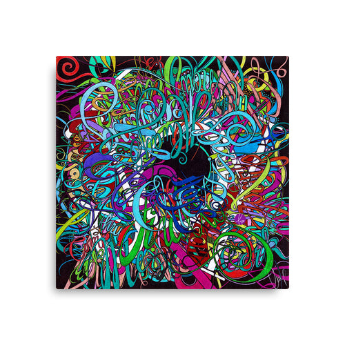 JOY Canvas Statement Print