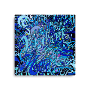 WISDOM Canvas Statement Print