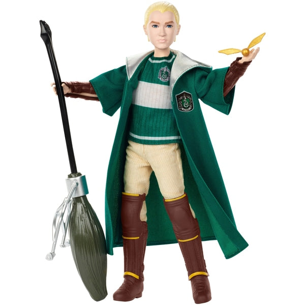 Harry Potter Quidditch Draco Malfoy nukke Suomi