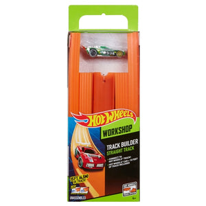 Hot Wheels Track Builder Straight Track with Car Suomi