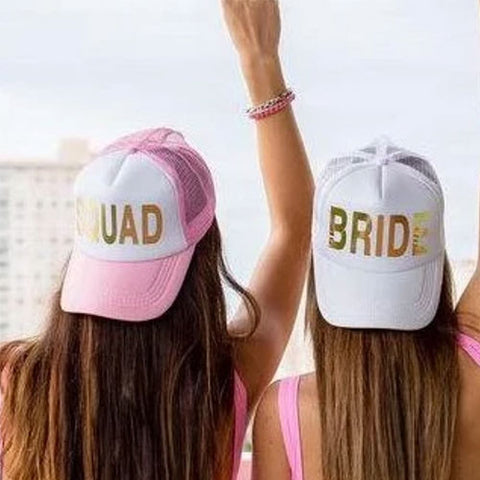 Bridal hats for bridesmaids
