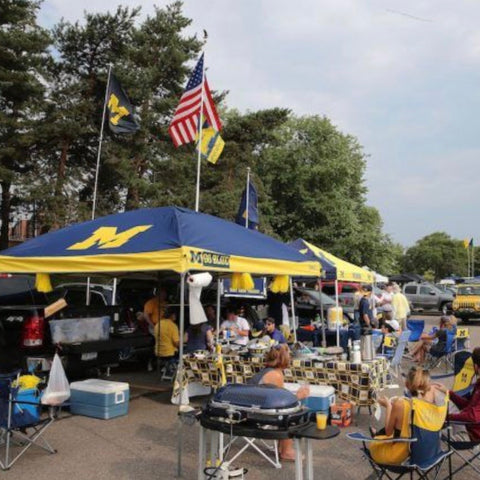 University of Michigan football tailgate