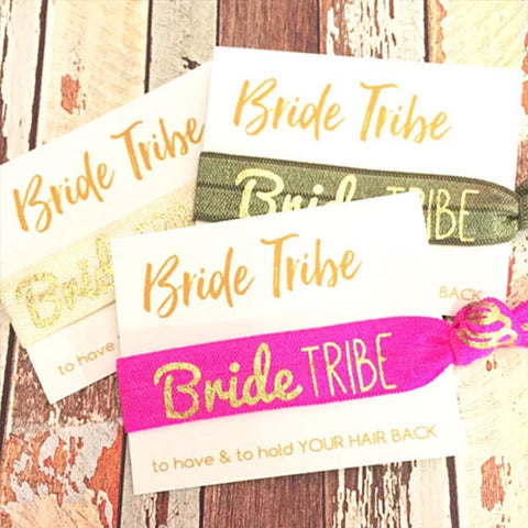 Bridal hair ties for bachelorette party