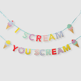 I Scream You Scream Banner