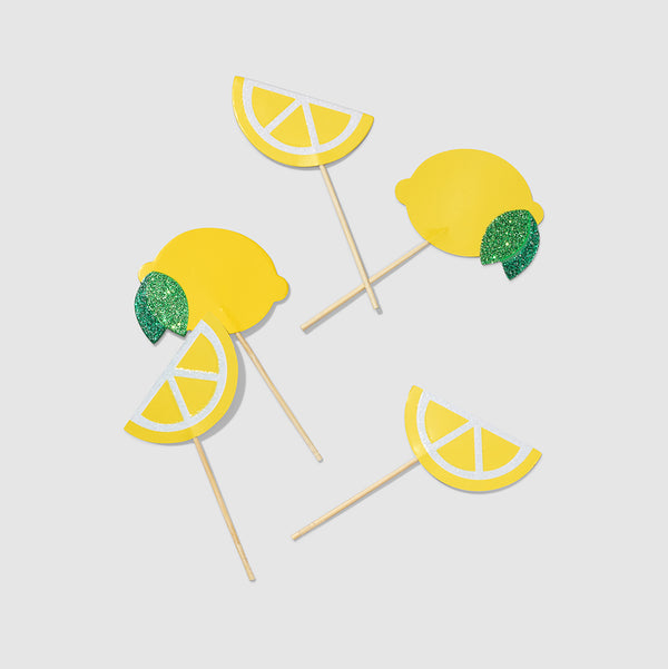 Lemon Mini Toppers (10 per pack) by Coterie
