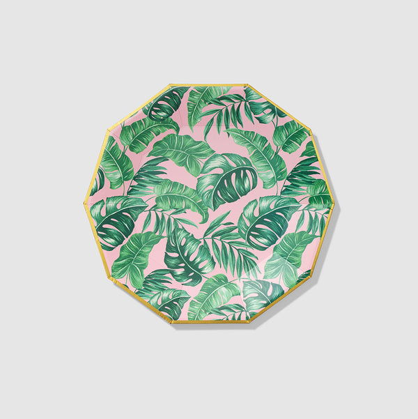 Palm Leaf Large Plates (10 per pack) by Coterie