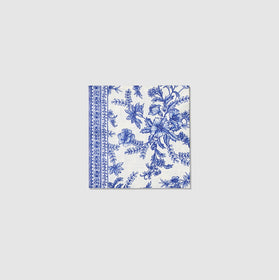 French Toile Cocktail Napkins (25 per pack)