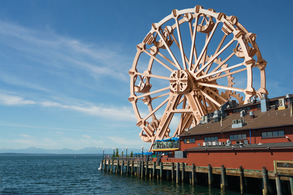 Ferris Wheel - WoodTrick's Wooden 3D mechanical model kit. No glue or cutting required Construction set.jpg