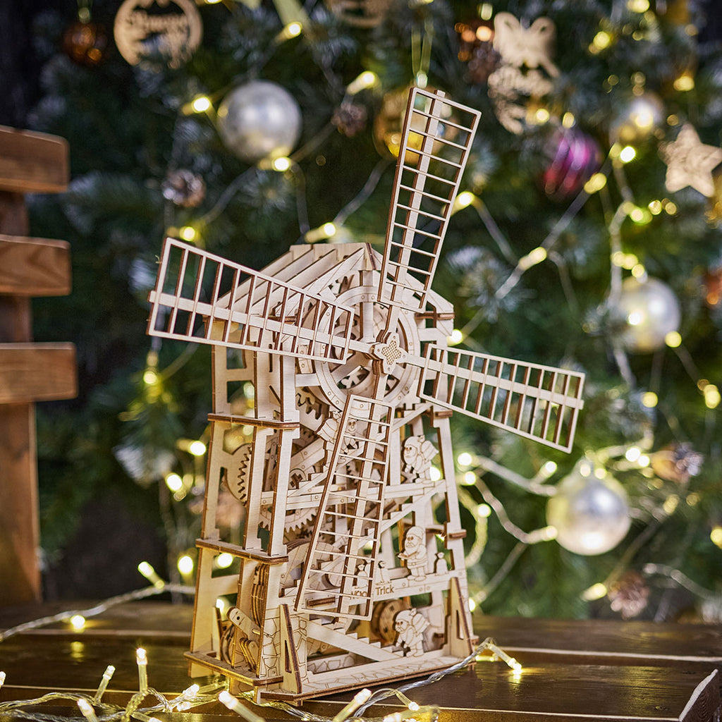 WindMill---3D-wooden-mechanical-model-kit-by-WoodTrick.
