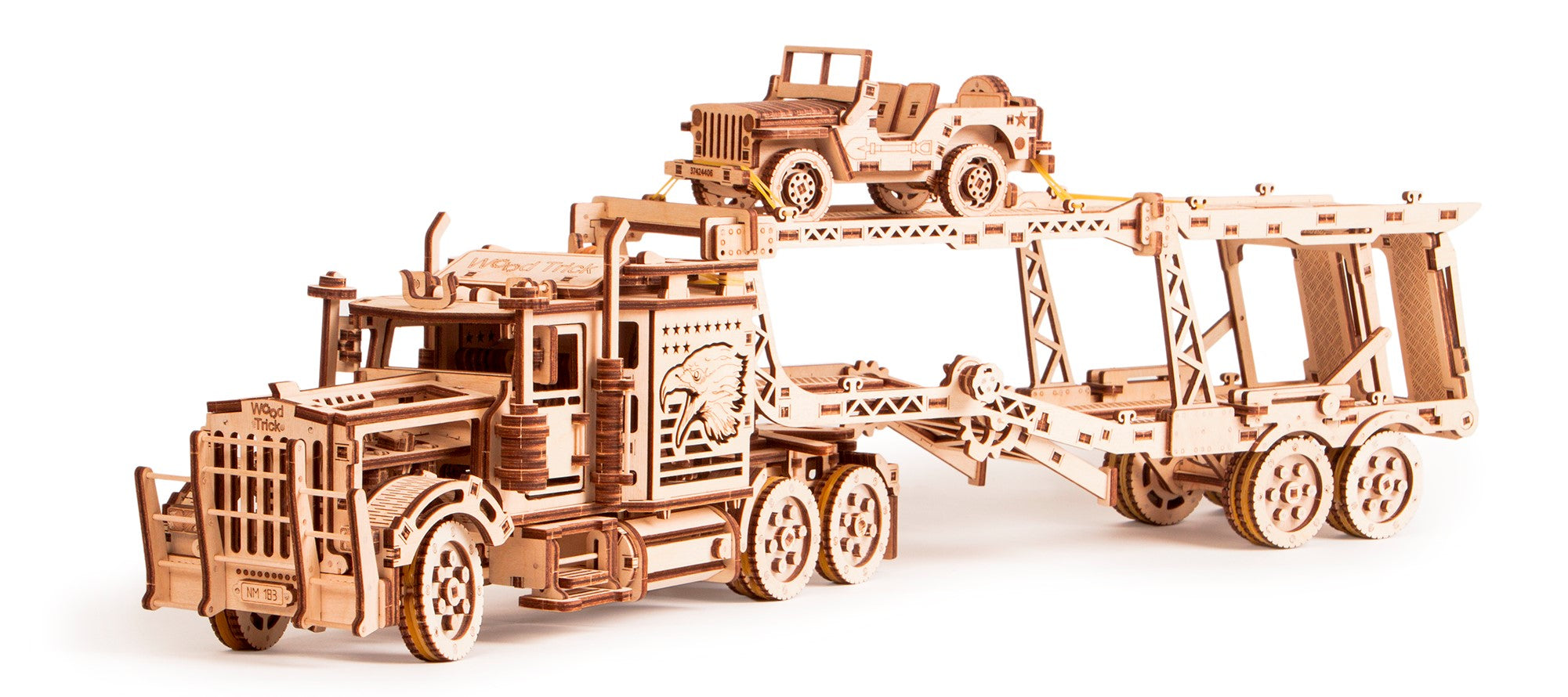 Wooden mechanical model, 3D puzzle, for children and adults. Perfect gift for him. Learning game, Educational toy, Wooden toys
