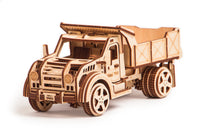American Truck - WoodTrick wooden model kit. Wooden 3D mechanical model. wood building model kits.