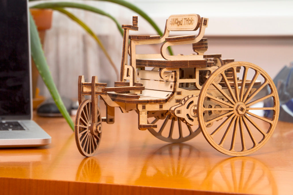 first car wooden toy