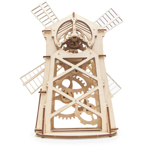 Windmill - Wooden 3D mechanical model. Perfect gift for brothers