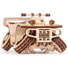 ATV - 3D wooden mechanical model kit by WoodTrick.