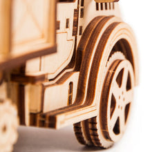 American Truck - 3D wooden mechanical model kit by WoodTrick.