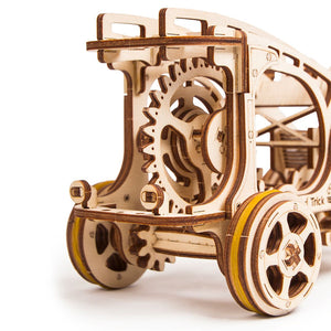 Buggy - 3D wooden mechanical model kit by WoodTrick.